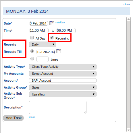 Activity Planner-EmployWise